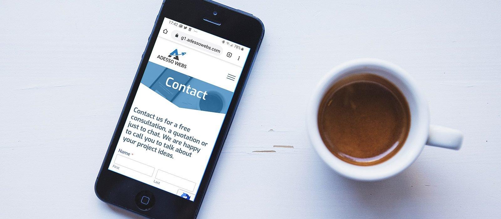 Contact Adessowebs