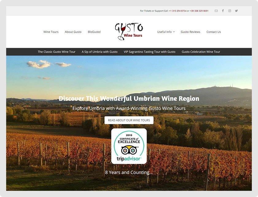 Gusto Wine Tours